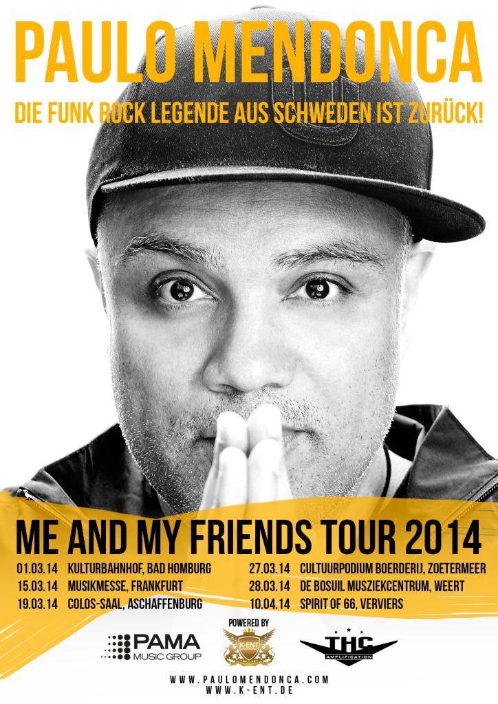 Paulo Mendonca Tour Poster 2014 Final